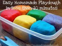Preschool: Recipes for Crafts & Play Dough