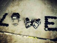 I am a hockey mom.