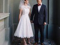 Tea Length, Mid Length and Short Wedding Dresses Tea Length & Short Wedding Dresses  Board