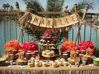 Luau  Island Style  Party