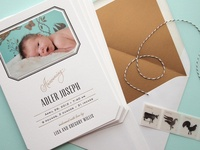 invitation inspiration - baby