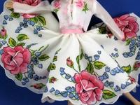 Vintage Handkerchief Crafts