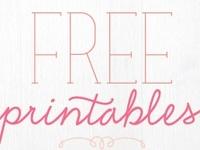 Free printables, fonts, graphics.