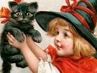 Vintage Greetings---Halloween