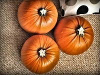 Ideas for crafts and cooking in Autumn and Halloween