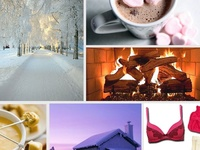 Hunkemöller goes Sweden! Create your 'Winter Wonderland moodboard' on Pinterest