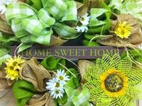 Wreaths/Burlap~All Seasons