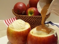 Favorite Apple Recipes. Find yummy apple dessert and main dish recipes, Mom's apple pie, streudel, fresh apple cake, apple dumplings, pie filling, canning and dehydrating recipes, apple fritters, candy and caramel apples, stuffed apples, homemade applesauce, baked apples, apple cookies and even Granny Smith's favorite healthy apple desserts.