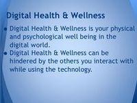 Digital Health and Well Being / digital citizenship, 15 topics on digital health and well being.
