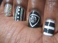 9 best Nets Inspired Nail Art & Makeup images on Pinterest ...