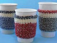 Crochet - Cup/Mug/Can/Jar/Bottle Cozies
