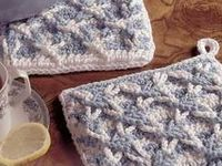 Crochet - Potholders, Hot Pads, Oven Mitts, Coasters, Placements