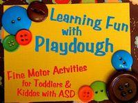 Learning -  Playdough