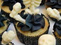 Halloween and Other Sinister Eats & Drinks. Also the serving pieces and dinnerware to go with.