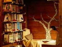 Nooks, Books and Spectacular Seating