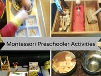 Montessori and Montessori-inspired activities, trays and materials.  *See separate boards for infant/toddler activities and DIY Montessori activities.