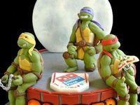 TM Ninja Turtle Cakes
