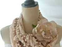 Fabric beads and jewelry
