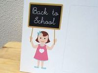 Fun printables, crafts and stuff to have ready when school begins