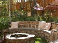 Fire pit - outdoor entertaining