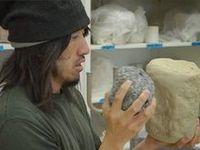 ceramic artists at work.
