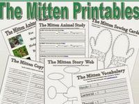 """Schooling with """"The Mitten"""" on Pinterest   The Mitten, Jan Brett and ..."""