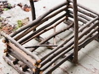 Crafts - Wood and twigs