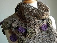 Crochet Scarves, Stoles, Wearables