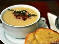 Soup-Cauliflower on Pinterest | Cauliflower Soup, Roasted Cauliflower ...