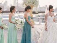 sea green wedding theme