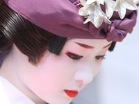 The enchanting Traditional Japanese Female Entertainers of Arts,Conversation, Dance, Music and Games
