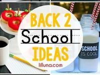 Cute ideas for teachers, students and school activities.  School's In Everyone!