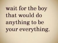 True Love Waits....<3