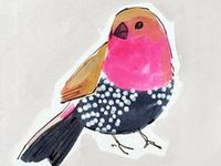 Animal illustration / animal pattern and print that inspires