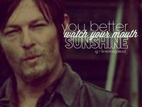 Mostly Daryl Dixon (vampires zombies werewolves)