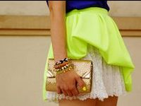 The brightest board around! Neon shoes, neon shirts, neon pants, and even neon accessories.