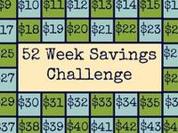 ... on Pinterest | 52 week money challenge, Charts and Savings accounts