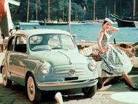 Okay, it's true. I've fallen hard for these vintage Fiats! Gotta be the Italian in me.