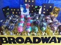 Broadway themed pins