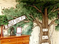 Dillon's Outdoors themed bedroom