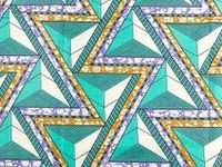 Colourful and bold African textiles + patterns