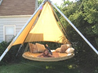 7 best images about Hanging Outdoor Hammock Beds on ...