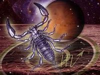 The Scorpio in me.  The Scorpion defeated Orion in a battle and was given a constellation.