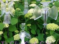 Glass Totems & Flowers
