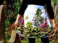 I love aprons!  I have some of my great grandmothers aprons and I love them!!