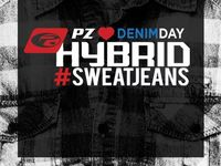 Hybrid #SweatJeans // Happy National Denim Day! / Happy National Denim Day! From the gym to a night out, with our Hybrid #‎SweatJean you'll never have to choose! Available at www.pointzero.ca