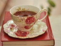 Anything at all related to tea--lovely pictures, recipes for food to eat with tea and recipes with tea as an ingredient