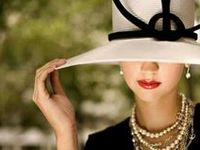 Elegant, sophisticated fashion and stylish, chic accessories.