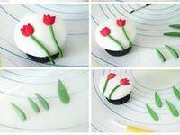 tutorial flower, topper, ideas for cake decorating