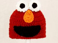 Free Crochet Pattern For Elmo Beanie : 20 best images about Crochet - Hats - Elmo on Pinterest ...